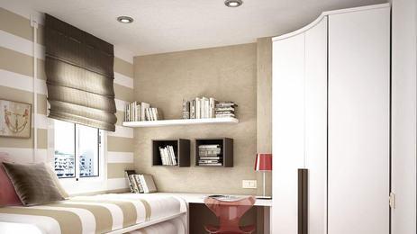 Натяжной потолок в маленькой квартире